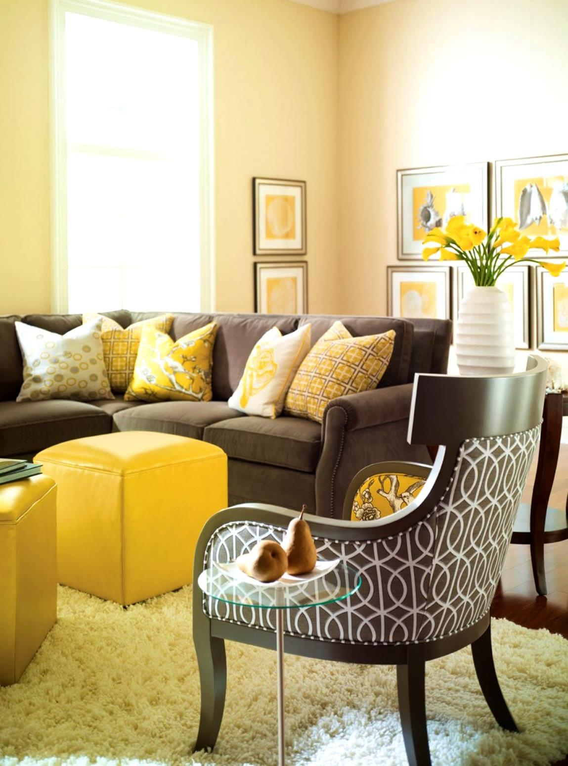 yellow cottage living room decorating ideas 29  gongetech