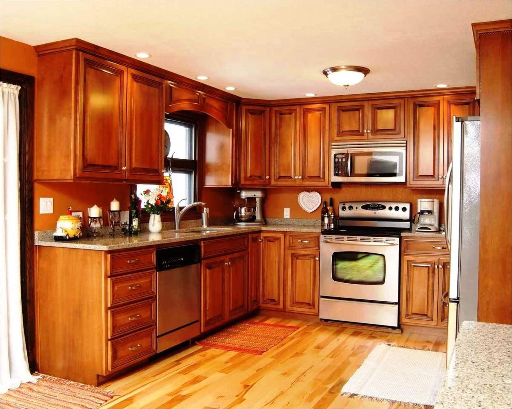 kitchen with maple cabinets color ideas 25 - Gongetech